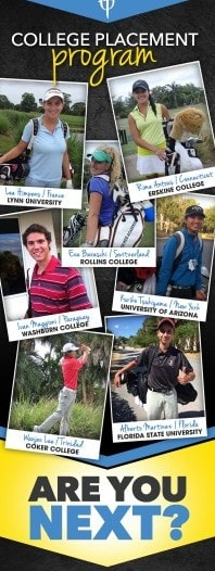 Junior Golf Academy Training - Golf College Placement - www.ClubMedAcademies.com