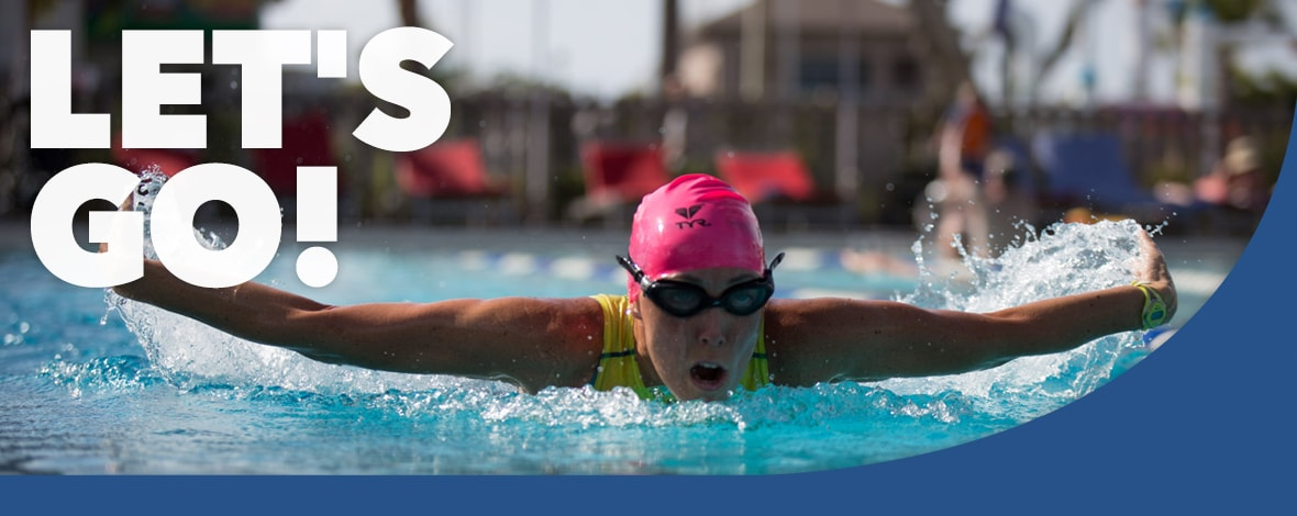 Adult Active Program - Swimming - www.ClubMedAcademies.com