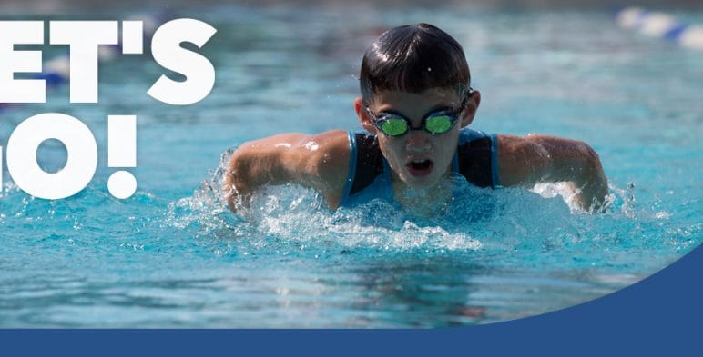 Junior Swimming Banner - www.ClubMedAcademies.com