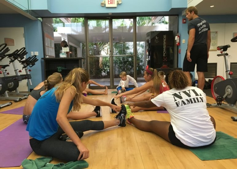 Club Med NVL Volleyball Academy - In the Gym