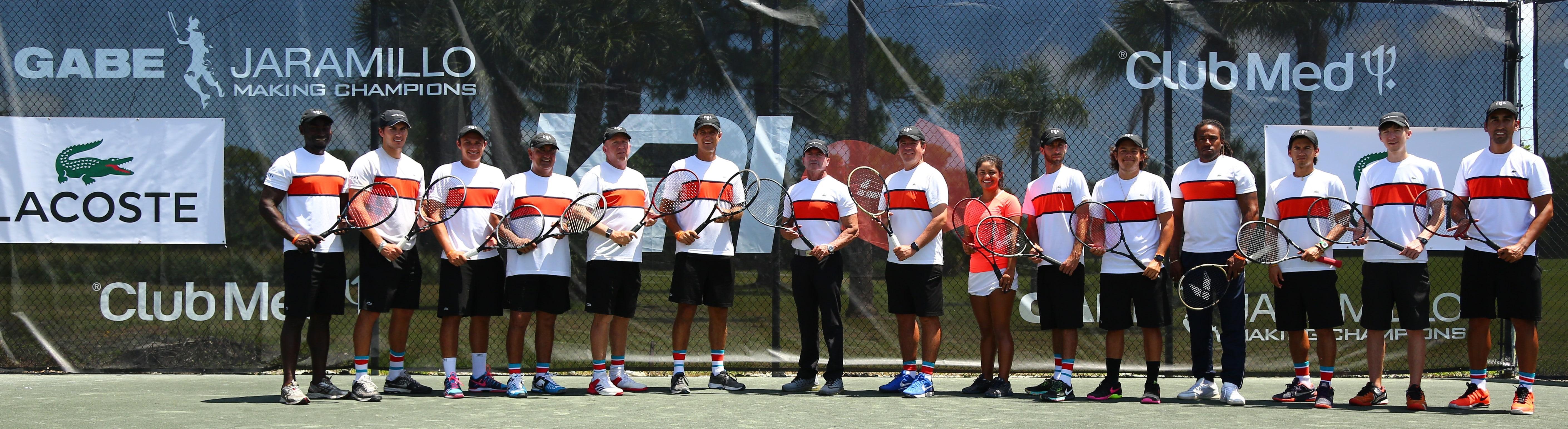 Club Med Academies Top Tennis Coaches