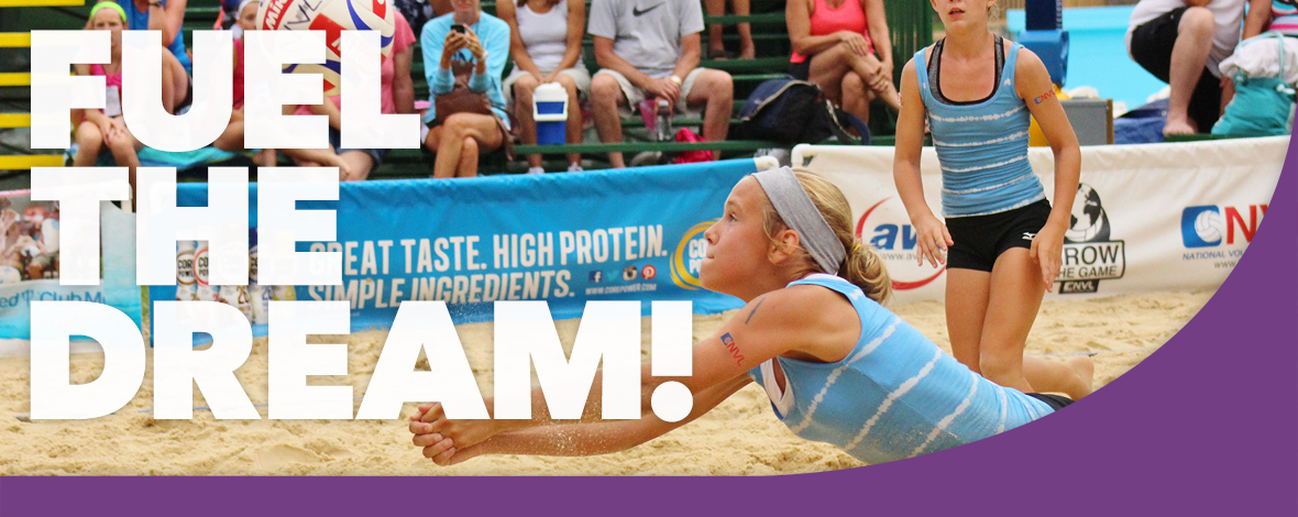 Volleyball Banner - www.ClubMedAcademies.com