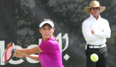 WTA Player Coco Xu with Gabe Jaramillo - www.ClubMedAcademies.com