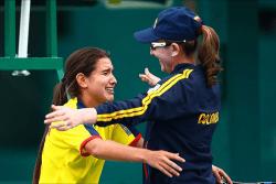 CMA Tennis Academy - Colombian Fed Cup Team - Maria Camila Osorio - www.ClubMedAcademies.com